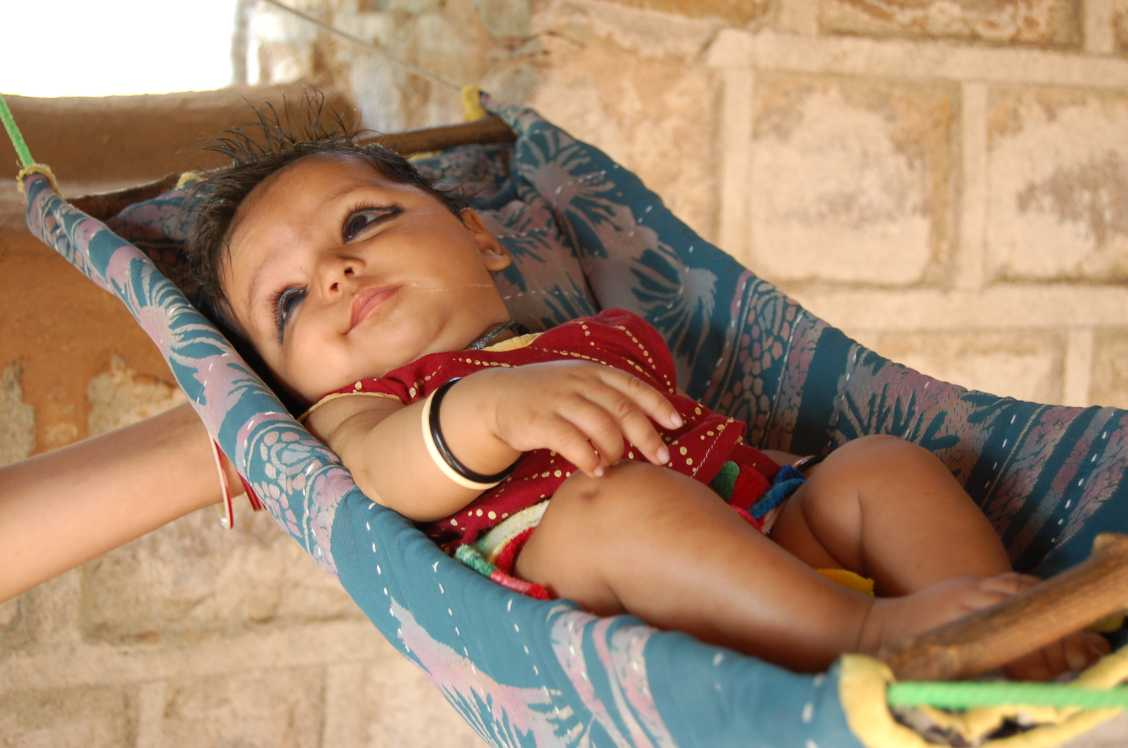 Orchha bebe fille