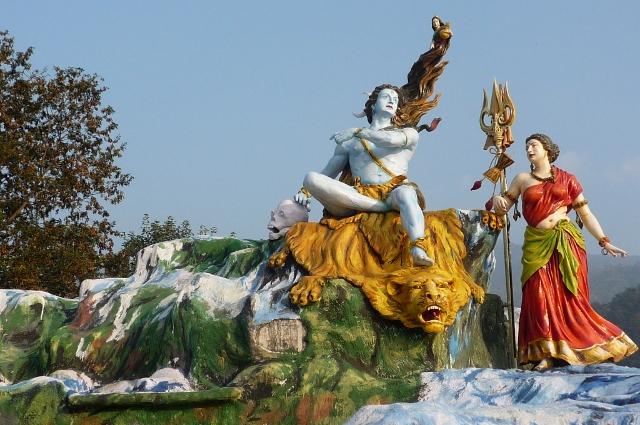 Shiva et Parvati
